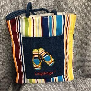 Longaberger Sunny Days Tote Bag